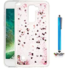 A9H Funda Transparente Dynamic Liquid Glitter Color Paillette Sand Quicksand arena movediza Star Back Cover Case para LG G4 Stylus2 LS775 shell -02HUA