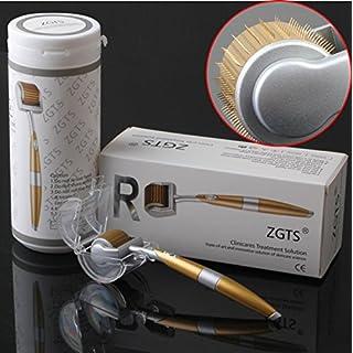 ZGTS, Titan-Derma-Roller mit Micro-Nadeln, Hautpflege-Tool zur Anti-Aging-Behandlung, Beseitigung von Akne, Cellulite, Falten, Dehnungsstreifen, Verbesserung des Haarwachstums und der Durchblutung