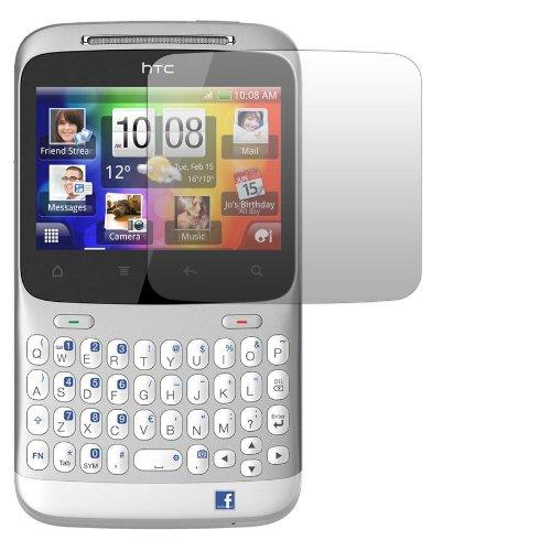 2 x Slabo Displayschutzfolie HTC ChaCha Displayschutz Schutzfolie Folie Crystal Clear unsichtbar Cha Cha MADE IN GERMANY