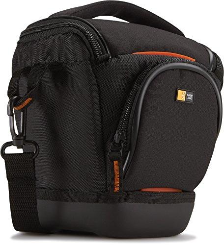 Case Logic SLRC-200 BLACKCamera Bag S Kameratasche inkl. Hammock System & Hartschalenboden (für Spiegelreflex) schwarz