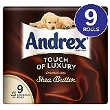 Andrex Hauch von Luxus Shea Butter Toilettenpapier 9 pro Packung