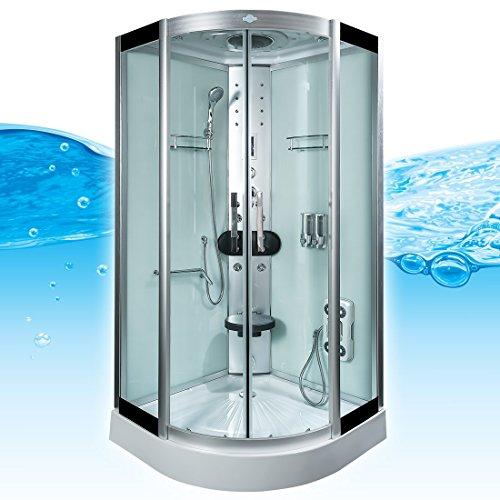 AcquaVapore DTP8058-5002 Dusche Dampfdusche Duschtempel Duschkabine 90x90 XL, EasyClean Versiegelung der Scheiben:2K Scheiben Versiegelung +89.-EUR - 2