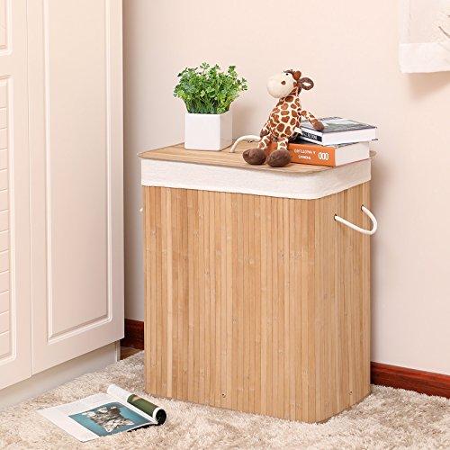 Wäschekorb aus Bambus, 100 Liter - 2