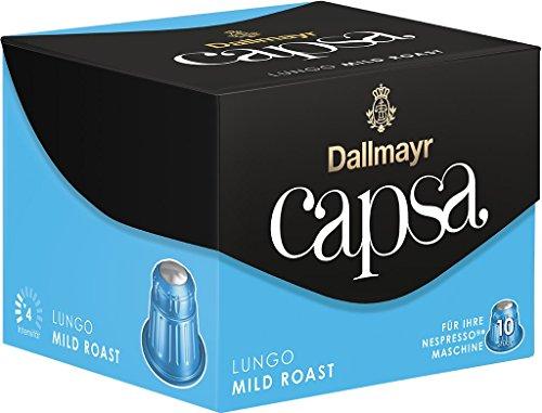 Dallmayr Kaffee capsa Lungo Mild Roast Kaffeekapseln, 5er Pack (5 x 56 g)