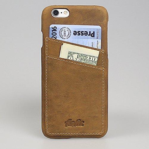 """Antic iPhone 6/6S-iPhone 6Plus/6S Plus Étui de Back Cover """"Ultra Slim Case en cuir design élégant occc"""