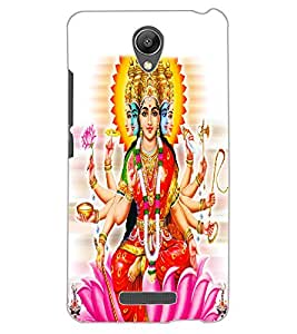 ColourCraft Maa Laxmi Design Back Case Cover for XIAOMI REDMI NOTE 2