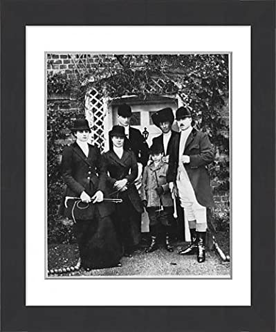 Framed Print Of Members Of Waddon