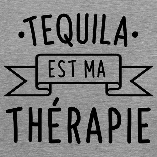 La tequila est ma thérapie - Femme T-Shirt - 14 couleur Gris
