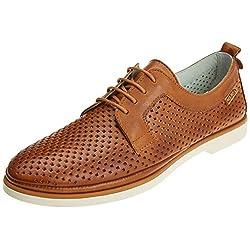 Pikolinos Santorini W7g Zapatos de Cordones Derby para Mujer Marr n Brandy 38 EU