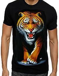Amazon.it  Tigre - T-shirt d8c31238706