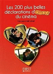 Petit Livre de - Les 200 plus belles déclarations d'amour du cinéma