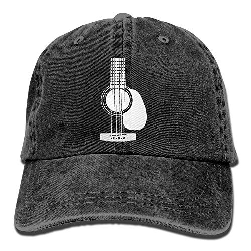 Columbia Womens Visor (Denim Baseball Cap Acoustic Guitars-1 Men Women Golf Hats Adjustable Baseball Cap)