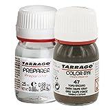 Tarrago Color Dye Tintura Color Autobrillante + Preparador 25 ml Topo Oscuro-47
