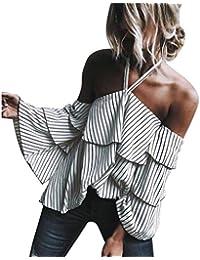 blusas de mujer de moda 2017 manga larga Switchali ropa de mujer en oferta casual atractivo sin tirantes camisetas mujer verano baratas blusas de mujer elegantes de fiesta otoño