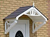 Shaftesbury Storm Porch Canopy (Grey Roof)