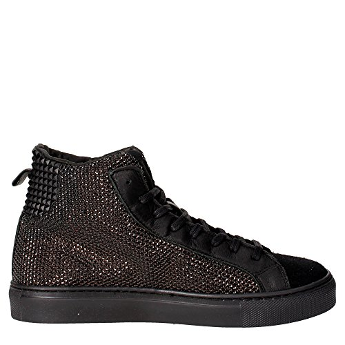 D.A.T.E. newman high sneakers Nero
