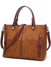 Las mujeres Vintage Bolso femenino Totes causal para compras diarias universales Dames bolso