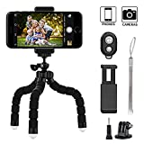 Best Universal Bluetooths - Phone tripod, Keliiyo Octopus Style Portable and Adjustable Review
