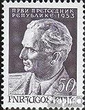 Yougoslavie 728 (complète.Edition.) 1953 josip broz tito (Timbres pour les...
