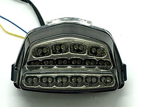 YI Brake Indicator Turn Signal light Smoke Lens for Honda CBR1000RR CBR 1000 2008-2011