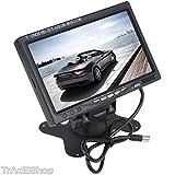 from Tempo di Saldi 7Inch HD TFT Colour LCD HDMI Monitor With Remote Control for Car Camper Home