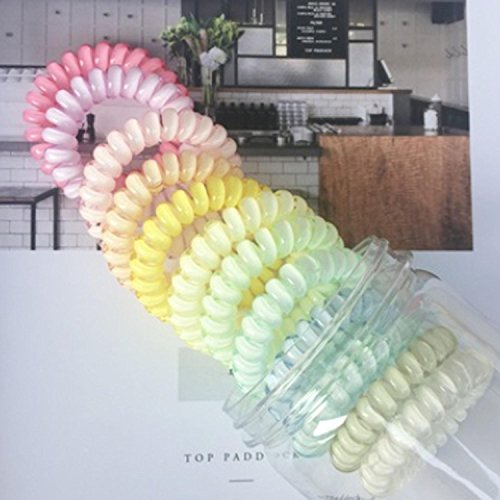 QCBC 12 Stück Haar Scrunchies Bobbles Elastischer Samt Bunte Scrunchy Haarbänder Krawatten, Farbe der Steigung , #104