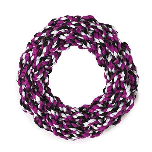 Grriggles Baumwolle Seil Ringe Hundespielzeug