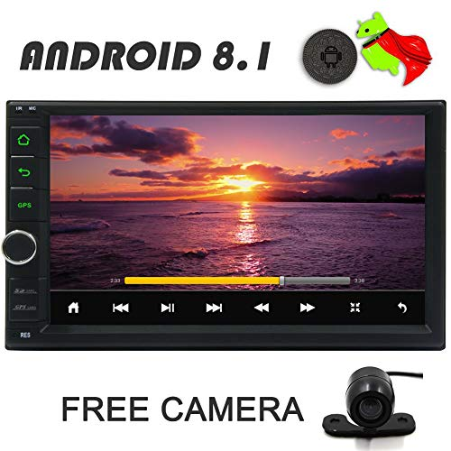 Double 2 Din 7 inch Google Android 8 1 Car Stereo 2GB RAM 32GB ROM Support  GPS Navigation Support Sygic/Google Map Support 1080P RMVB Video Bluetooth