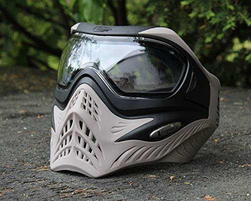 VForce Grill Paintball Maske Black on Grey klares Thermal Glas -