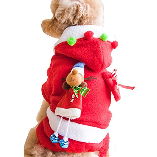 EVERY Pet Vintage Cute Christmas Xmas Themed Holiday Festive Dog Sweater Dog Accessories Holiday Pet Clothes Costumes for Dogs Puppy Kitten Cats Pajamas (Star Wars Dog Kostüm Xxl)