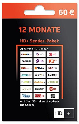 HD Plus  Sender-Paket 12 Monate Code für Vertragsverlängerung  per Email