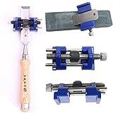 Tiptiper Affilacoltelli, levigatrice Guida affilatura legno scalpello Plane ferro pialle accessori per utensili a mano