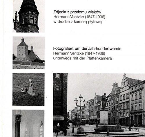 Fotografiert um die Jahrhundertwende. Hermann Ventzke (1847-1936) unterwegs mit der Plattenkamera.:...