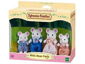Sylvanian Families Mouse Baby (White)