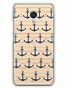 YuBingo Anchors Designer Mobile Case Back Cover for Meizu M3 Note