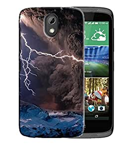 PrintFunny Designer Printed Case For HTC Desire 526