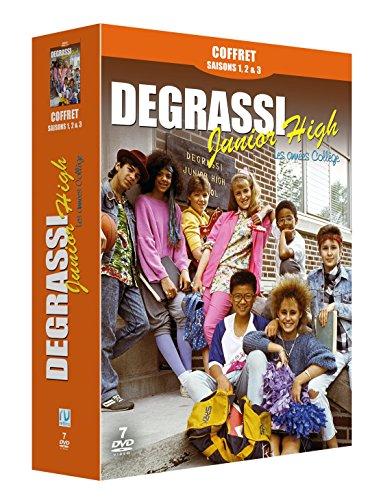 Preisvergleich Produktbild Coffret Degrassi Junior High : Les Années Collège - Partie 1 (42 épisodes)