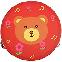 Sharplace 15 x 4,5 cm Musical Musik Tambourine Tamborine Drum Schule Home Baby Kinder