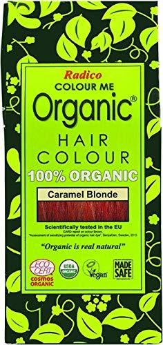 Radico Colour Me Organic 100% Natural Hair Dye (Caramel Blonde)