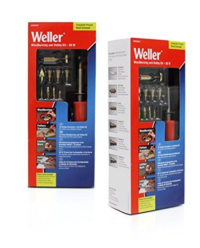 Pyrogravure Weller 30 W pour gravure sur cuir et décorations pirografiche Chaussures