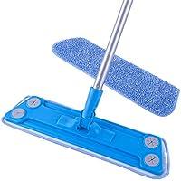 MR. SIGA Microfiber Floor Mop (Included 2 Microfiber Refills) - Size 43 x 14cm by MR. SIGA