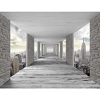 Papel Pintado Fotográfico 3D Tipo Fleece no-trenzado Salón Dormitorio Despacho Pasillo Decoración murales decoración de paredes moderna – 100% FABRICADO EN ALEMANIA – 9157aP
