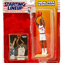 1994 - Kenner - Starting Lineup - New Edition - Dominique Wilkins #21 - Los