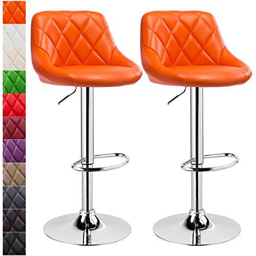 WOLTU-288Lot-de-2-tabourets-de-bar-cuir-synthtique-facile–nettoyerdiverses-couleurs-au-choix