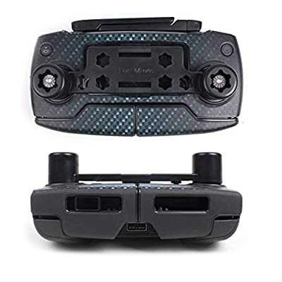iBayam Upgraded Transport Clip Remote Controller Joystick Screen Guard Protector Thumb Rocker Stick Holder Bracket with Velcro Strap for DJI Mavic Pro Transmitter