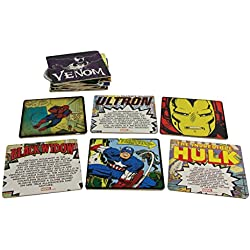 Paladone Posavasos Marvel Comics, Corcho, Multicolor, 8x8x1 cm