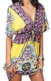 UMIPUBO Copricostume Donna Mare Colletto a V Costume da Bagno...