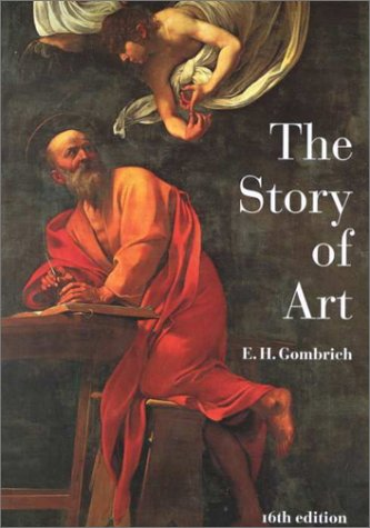 Book cover for The Story of Art