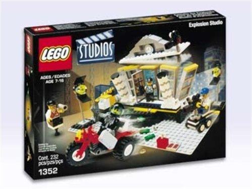 Preisvergleich Produktbild LEGO 1352 - Banküberfall mit Explosion, 232 Teile
