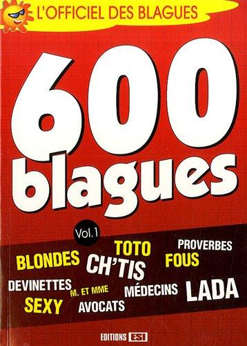 600 blagues : Volume 1